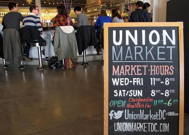 """Union Market Interior"" by Mr. T in DC"
