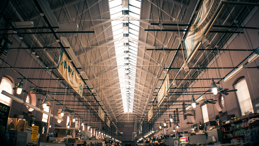 """Eastern Market, Washington DC"" by John Griffiths"