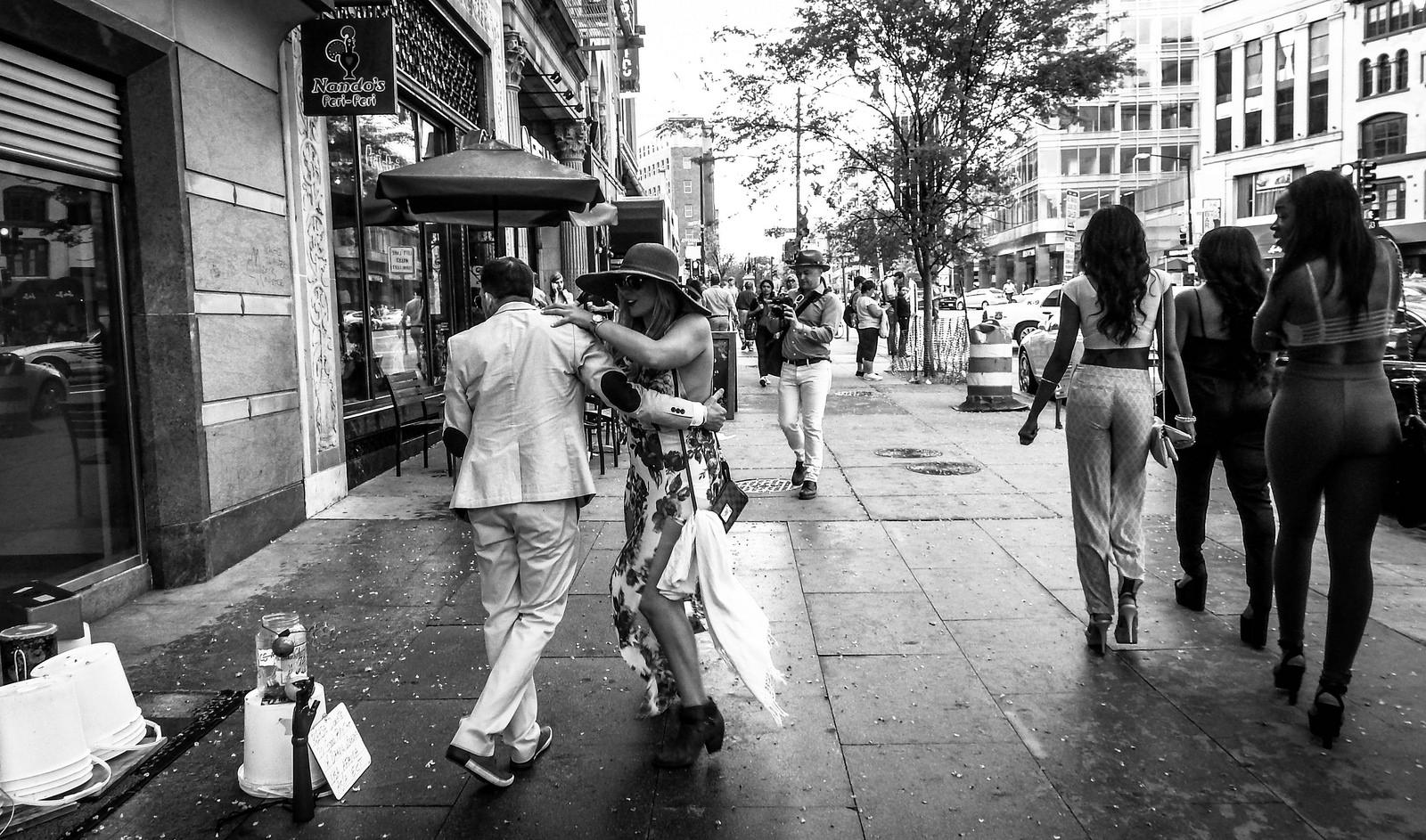 Puerto Ricans Dancing by Alfredo Herrera
