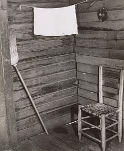 Walker Evans, Kitchen Corner, Tenant Farmhouse, Hale County, Alabama, 1936