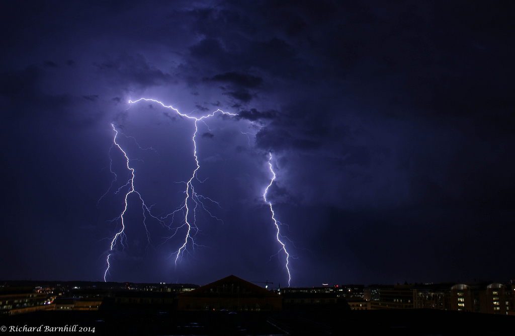 DC Lightning by Richard Barnhill