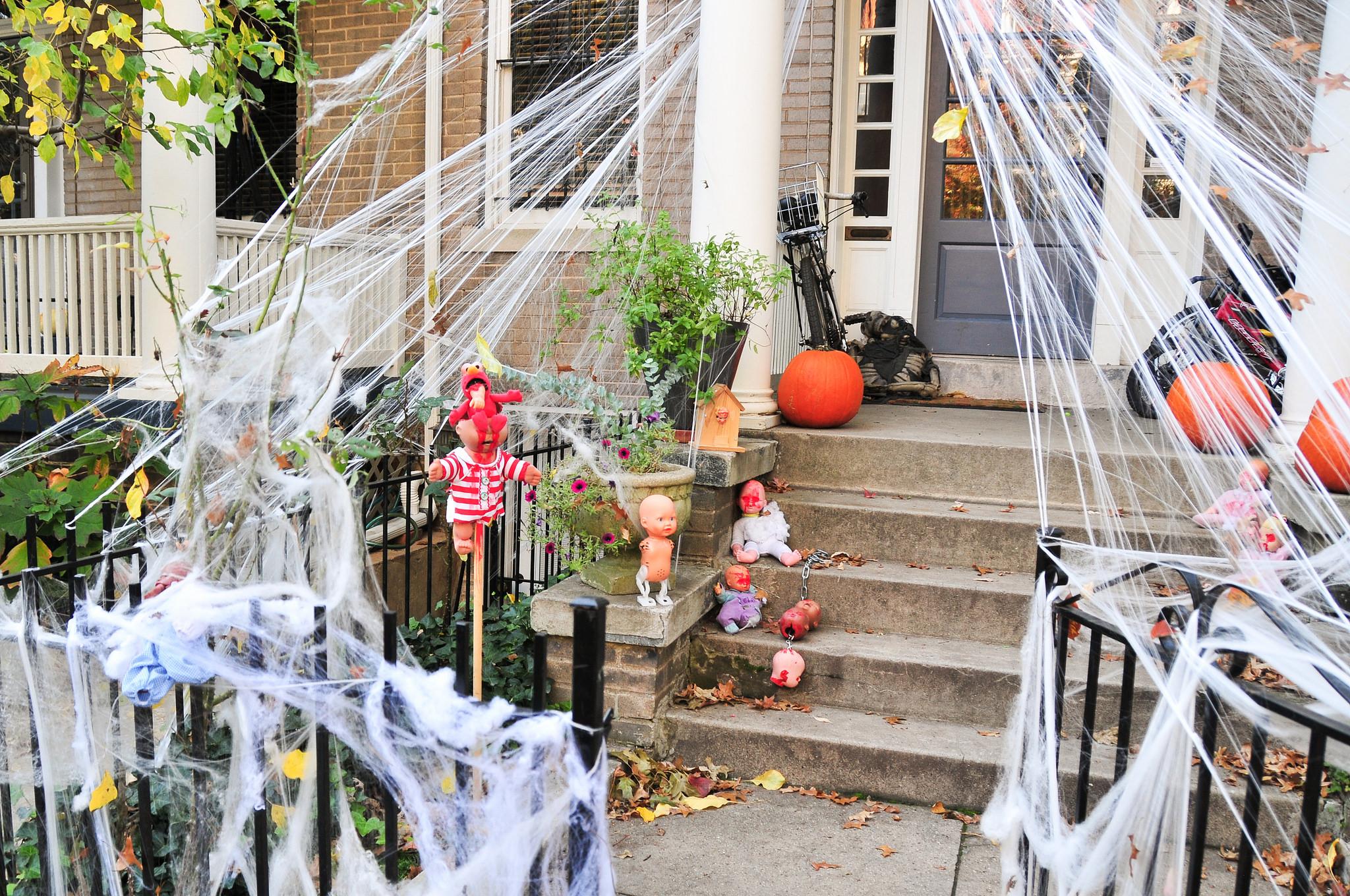 The Creepiest Halloween Display by John Leszczynski