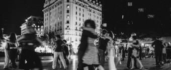 Messay Shoakena - Tango at Freedom Plaza