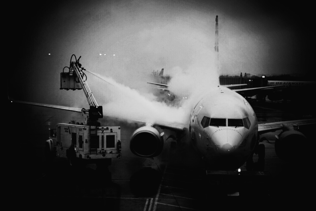 Artsy deicing by Kevin Wolf