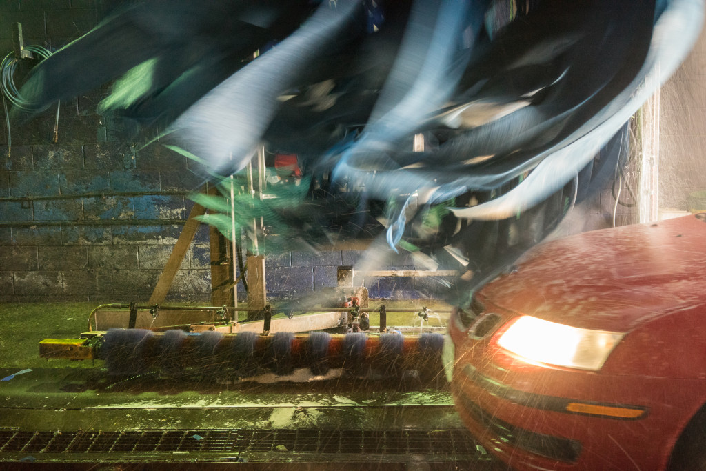 Colorful Car Wash by Kevin Wolf