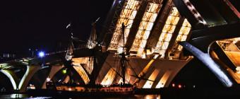 L 'Hermione departs Alexandria. Next stop: Annapolis, Maryland by BikeTripper