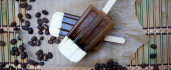 Iced Coffee Popsicles by Caroline Angelo