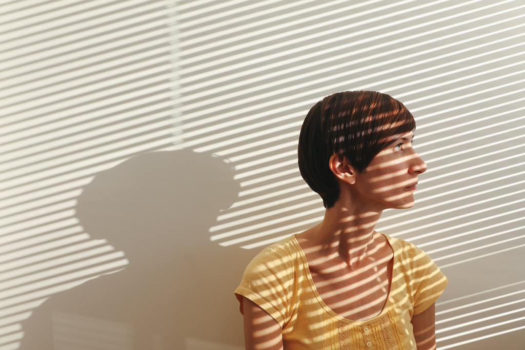 Shadowy Self Portrait by Noe Todorovich