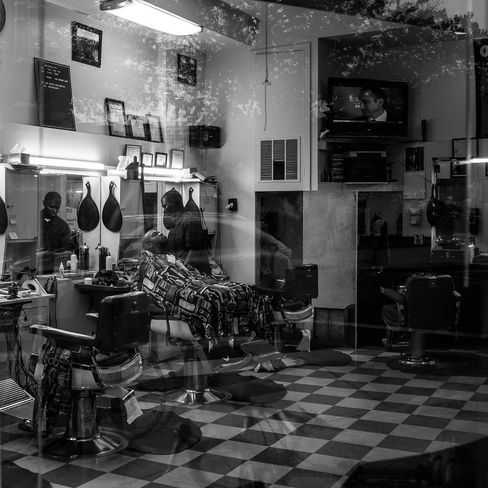 Reflections on a Haircut by Andrew Golda