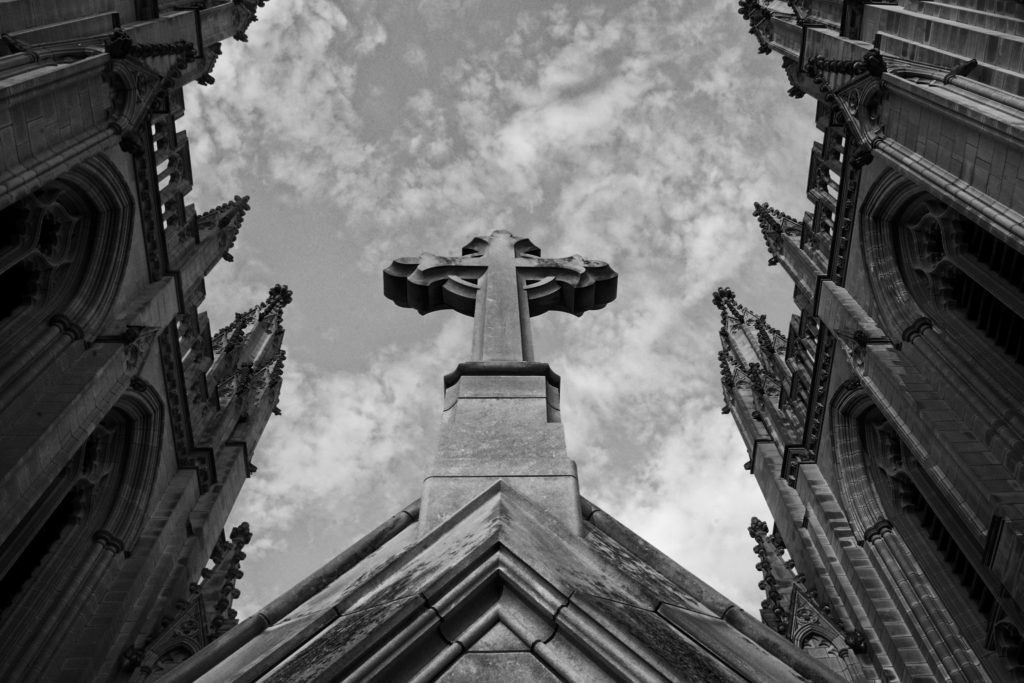 Cathedral Cross by Miki J