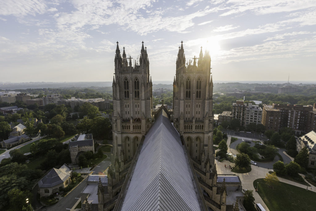 Cathedral View by Mark Alan Andre