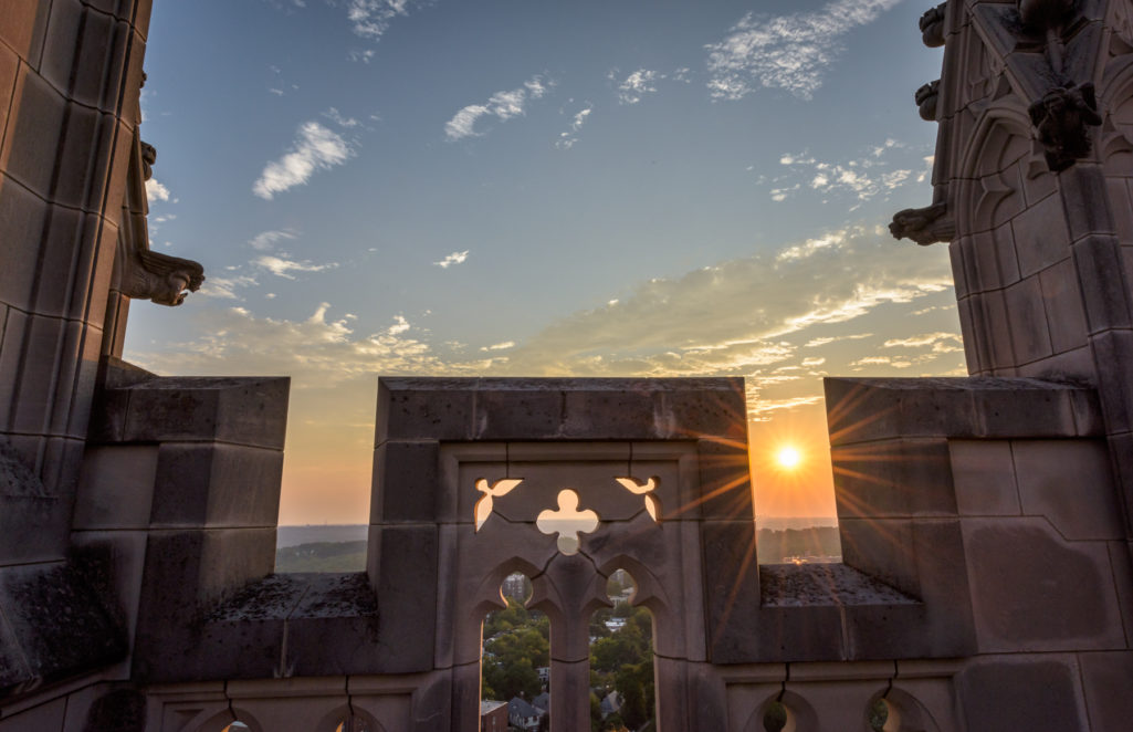 Sunset at the Cathedral by Geoff Livingston