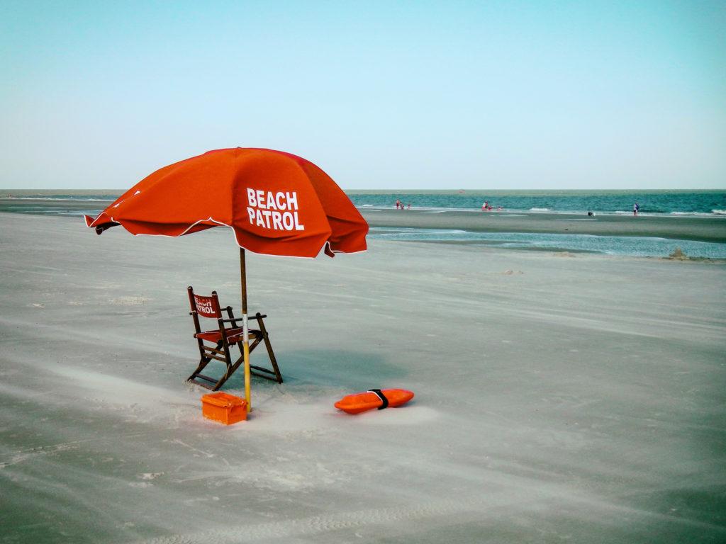 Beach Patrol by Carlos Lacruz